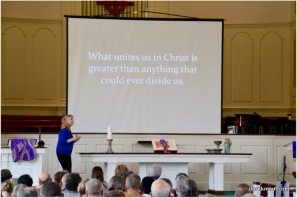 """""""What unites us in Christ is greater than anything that could ever divide us."""""""