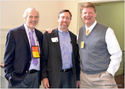pastors Ted Churn, Ed McLeod, Mac Schafer