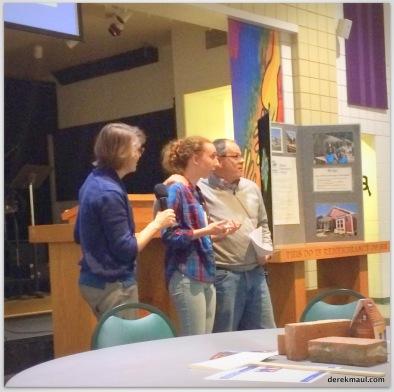 Rebekah with Karen Adkins and Jeff Simpson