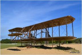 the first powered flight