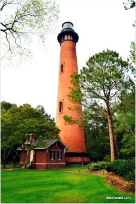 old brick lighthouse