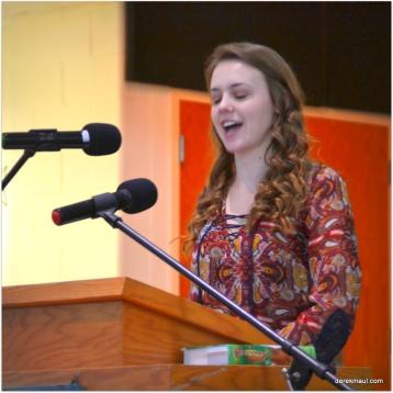 Senior Hannah Snow