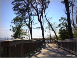 the boardwalk at Duck