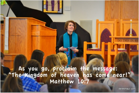 preaching the kingdom!