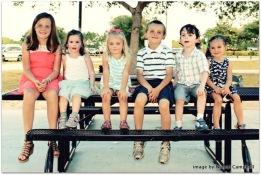 Haley, Beks, Hannah, Hudson, David, Harper