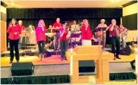 Praise Team leading worship