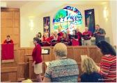 chancel choir singing their hearts out