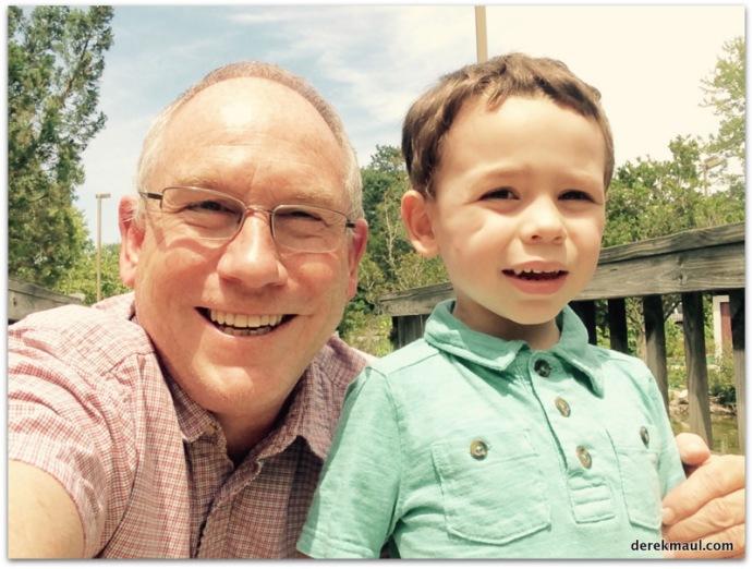 Grandaddy and David