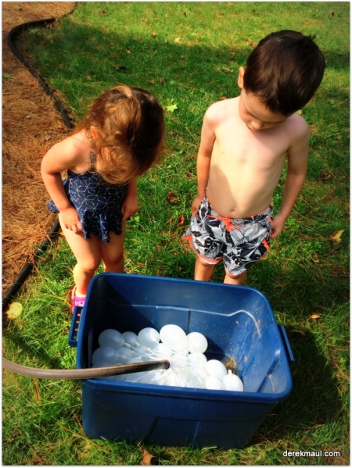 ready for water balloons!