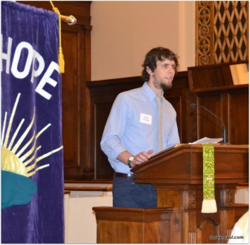 another young man accepted for ordination