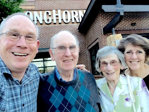 May '16 - mum and dad's 64th anniversary