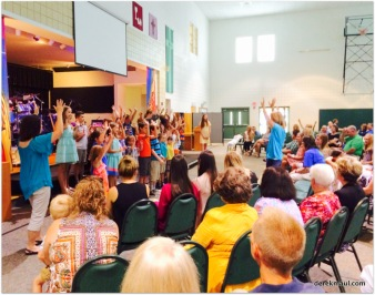 kids singing for Lisa