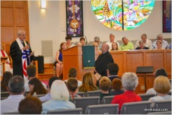 Ted Churn asks Bob Beichner the ordination questions