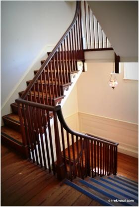 mahogany stairs - Dixon