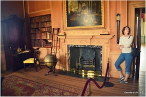 Tryon's private library