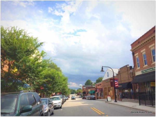 White Street, downtown
