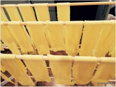 drying the pasta