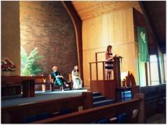 Naomi speaking