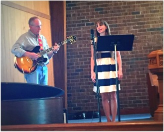 me singing with Naomi