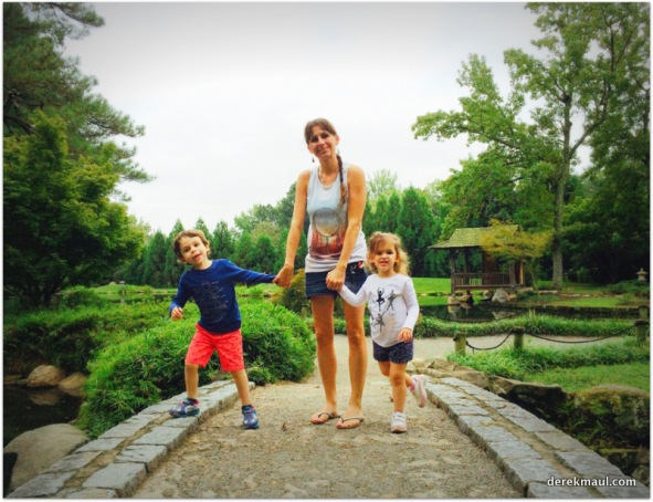Naomi with her children