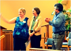 commissioning new pastor
