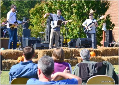 John Fawcett and his band kick off Holy hay Day
