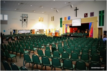 the CLC before worship