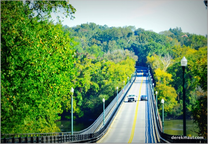 crossing the James River