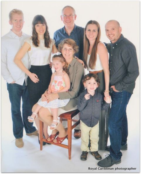Derek, Rebekah, and family, 2016