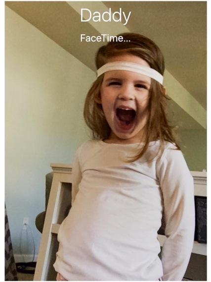 Beks on Facetime