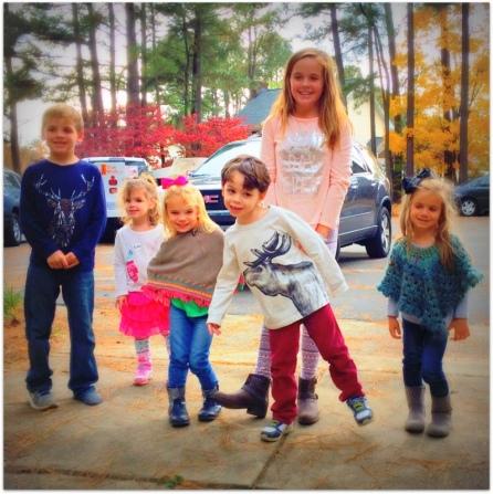 Hudson, Beks, Harper, David, Haley, Hannah Mae