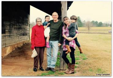 Gotta love the four generation shot!