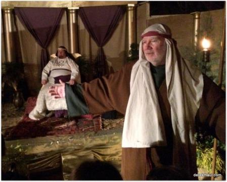guide George, with Herod (Paul) behind