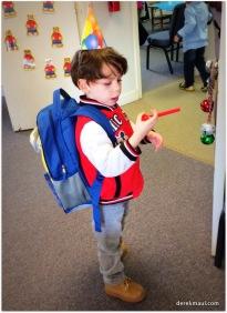 """Look, Grandaddy, here's my classroom!"""