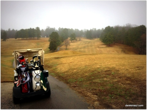 The 1st tee at Henderson Golf and Country Club