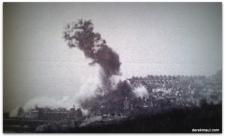 Shelling in Folkestone