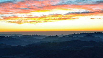 sunrise from Sinai