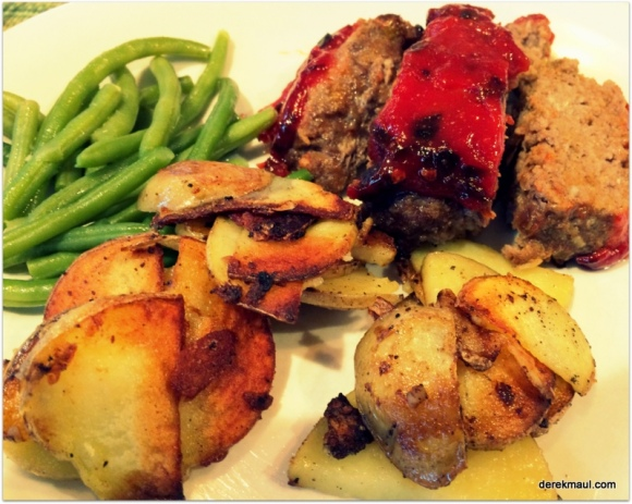 Monday's meat loaf