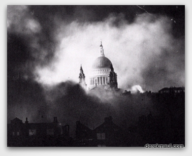 London in the Blitz