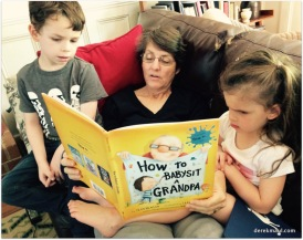 reading with the grands
