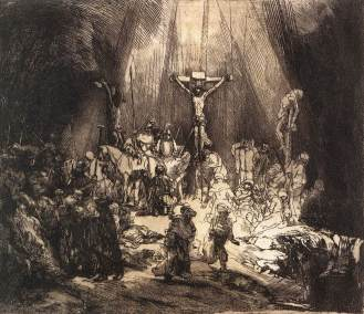rembrandt_-_the_three_crosses_second_state_-_wga19086