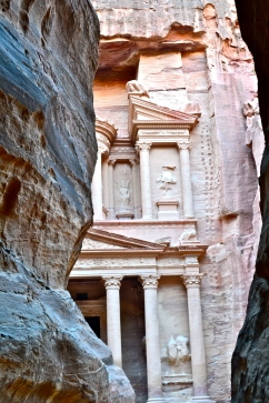 Entrance to Petra