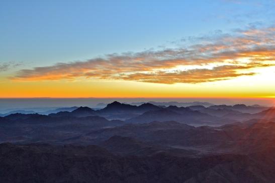 Sunrise from Mt. Sinai