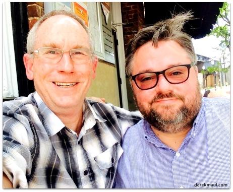 with Bruce McVey