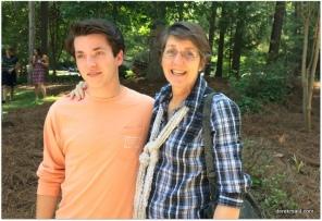 Rebekah with graduate Jack Fuller