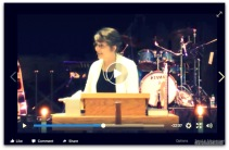 click on this link for Rebekah's message
