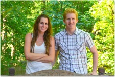 Our beautiful children - Naomi and Andrew