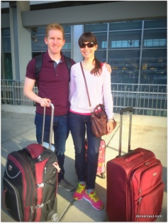Andrew and Alicia at RDU