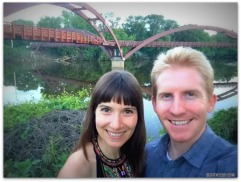 Andrew and Alicia in Midland