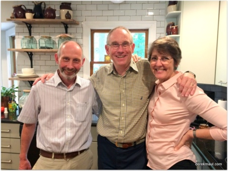 Peter, me, Rebekah